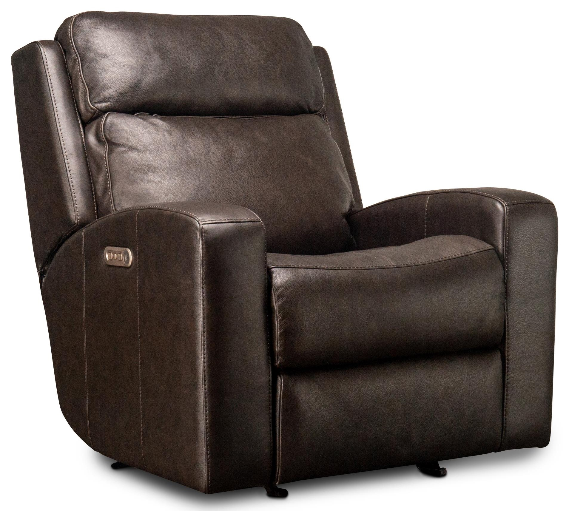 Cordelia Cordelia Leather Match Power Glider Recliner by Flexsteel Wynwood Collection at Morris Home
