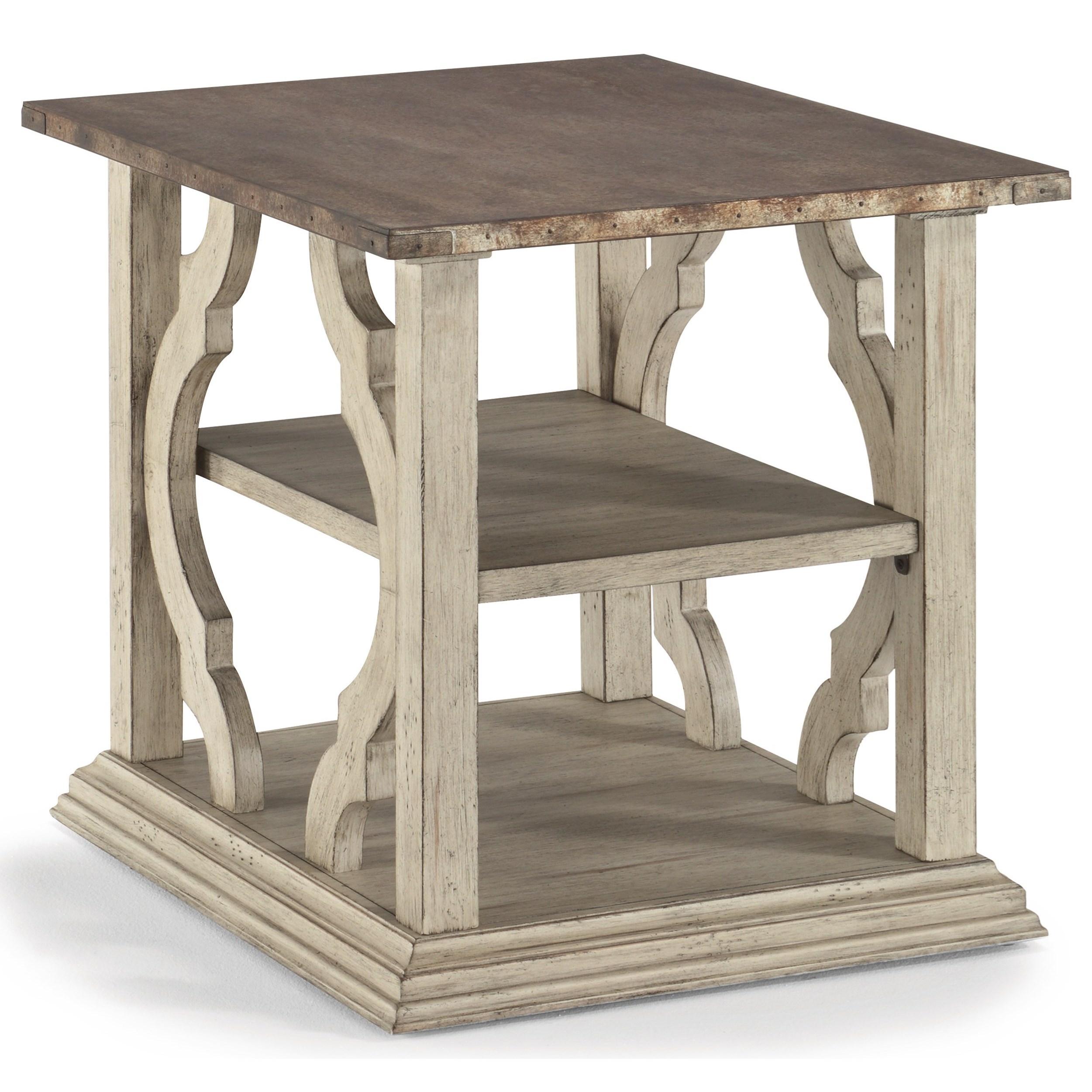 Estate End Table by Flexsteel Wynwood Collection at Steger's Furniture