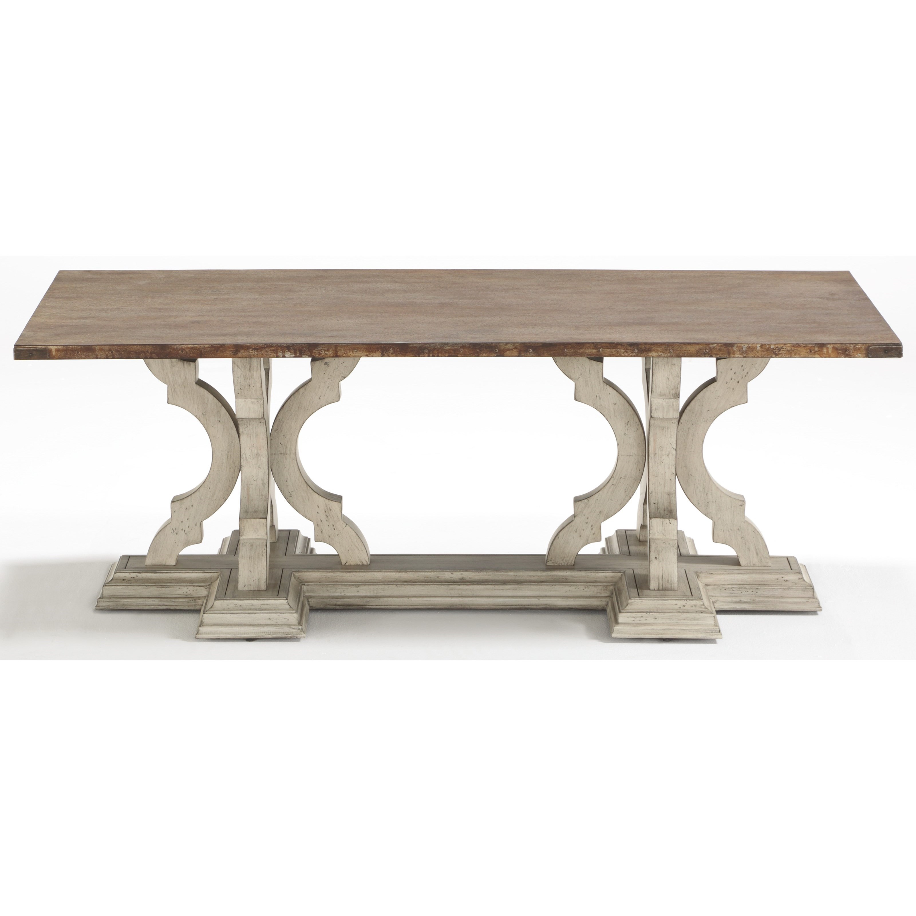 Estate Cocktail Table by Flexsteel Wynwood Collection at Northeast Factory Direct