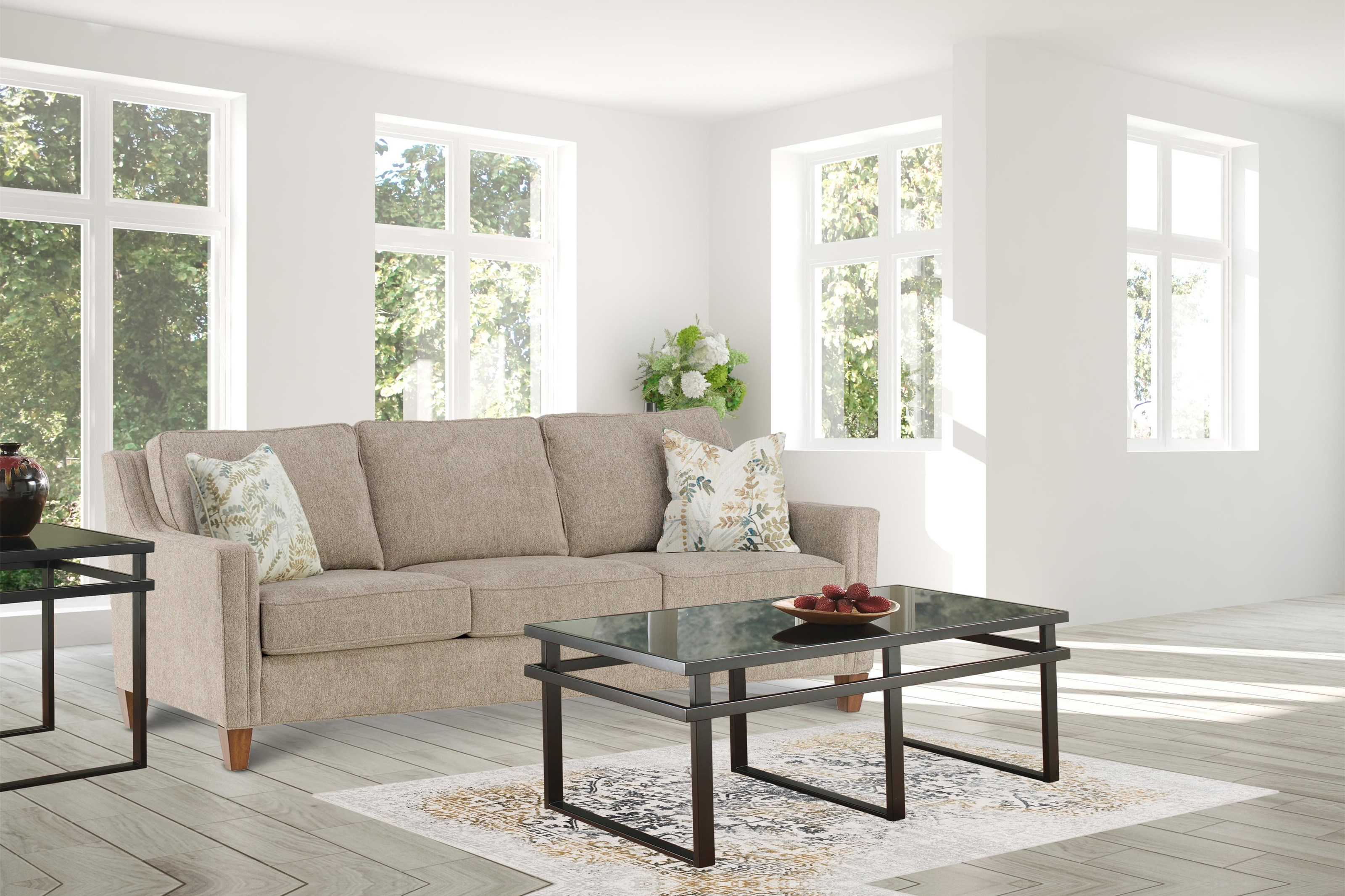 Florian Florian Sofa by Flexsteel Wynwood Collection at Morris Home