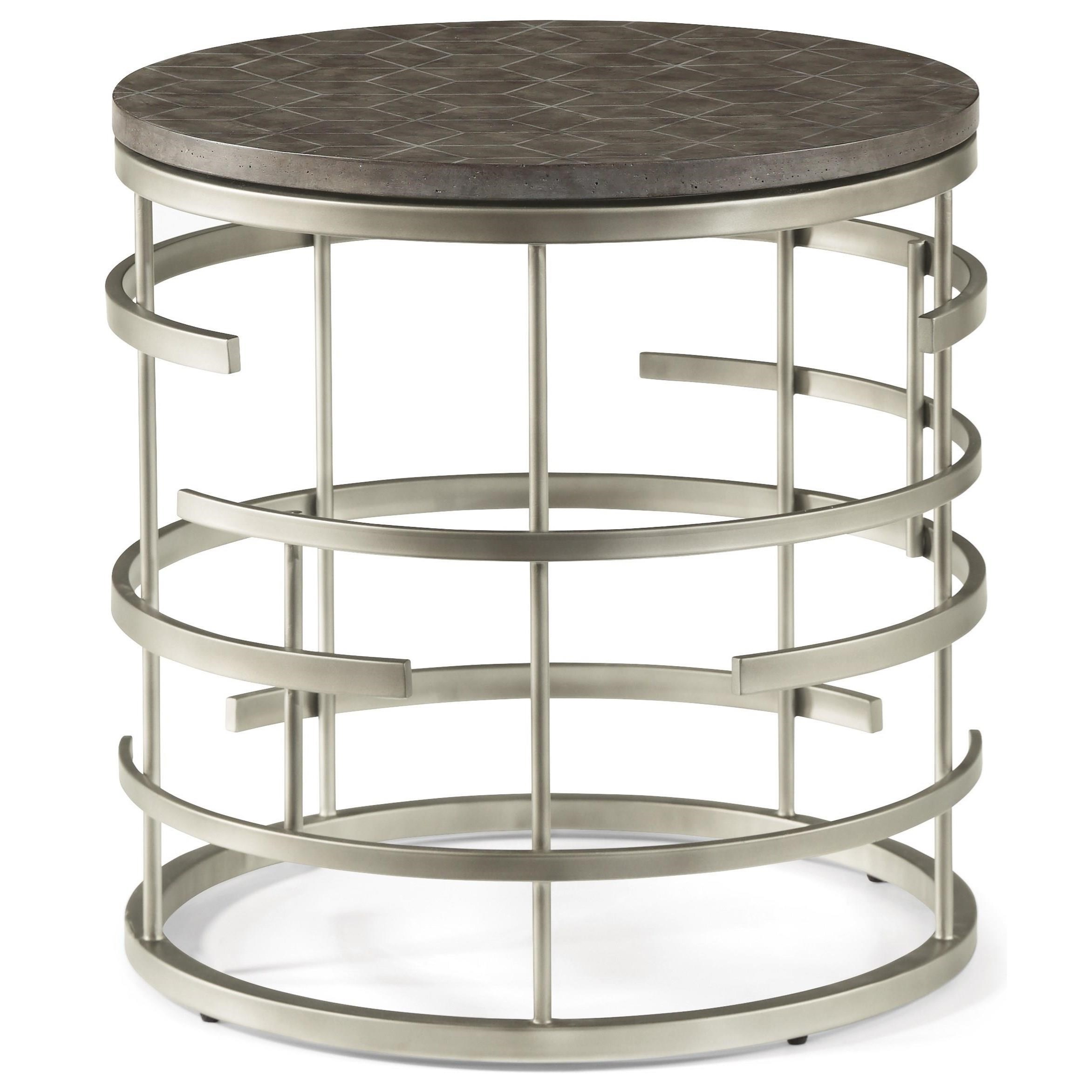 Halo Lamp Table  by Flexsteel Wynwood Collection at Darvin Furniture