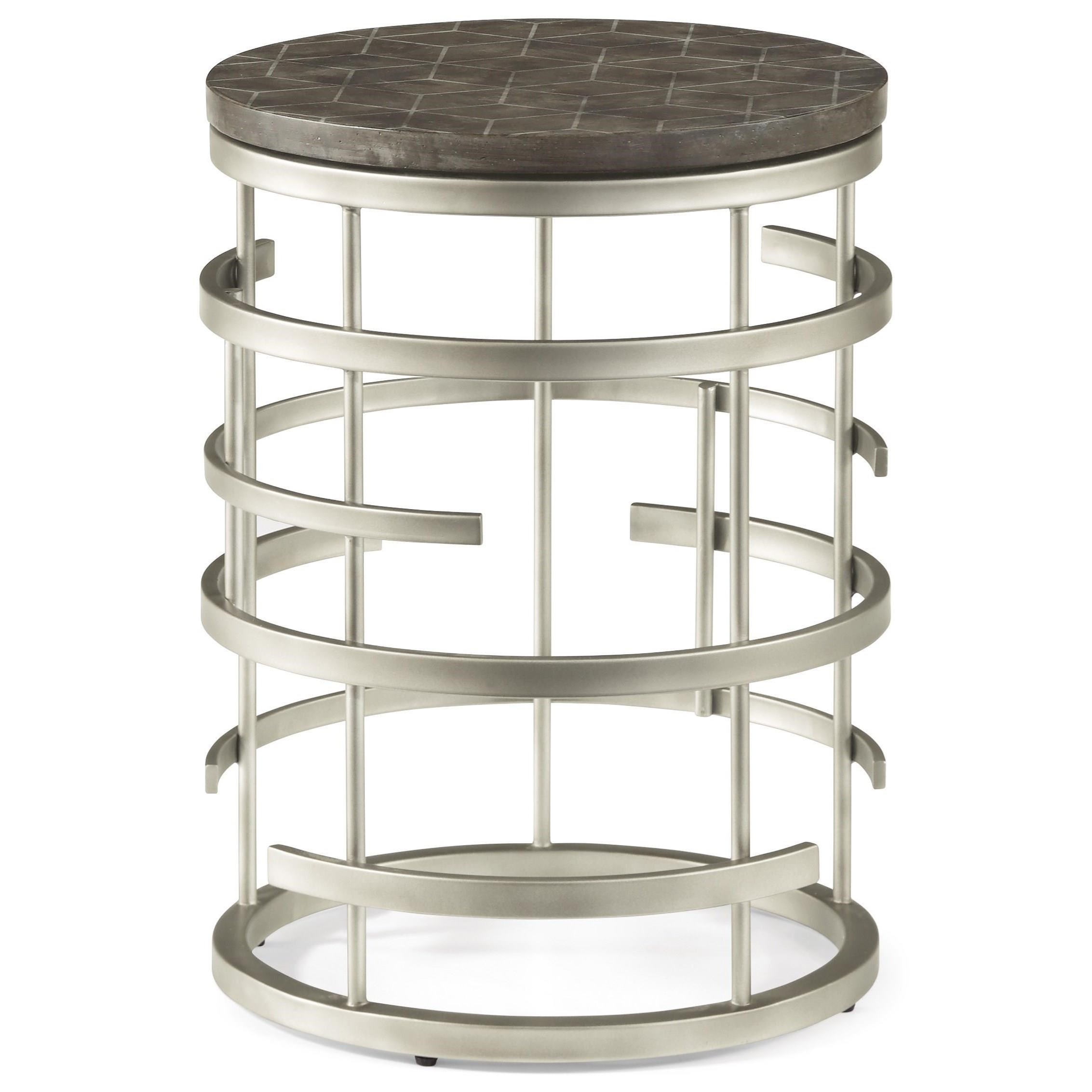 Halo Chairside Table  by Flexsteel Wynwood Collection at Sam Levitz Outlet
