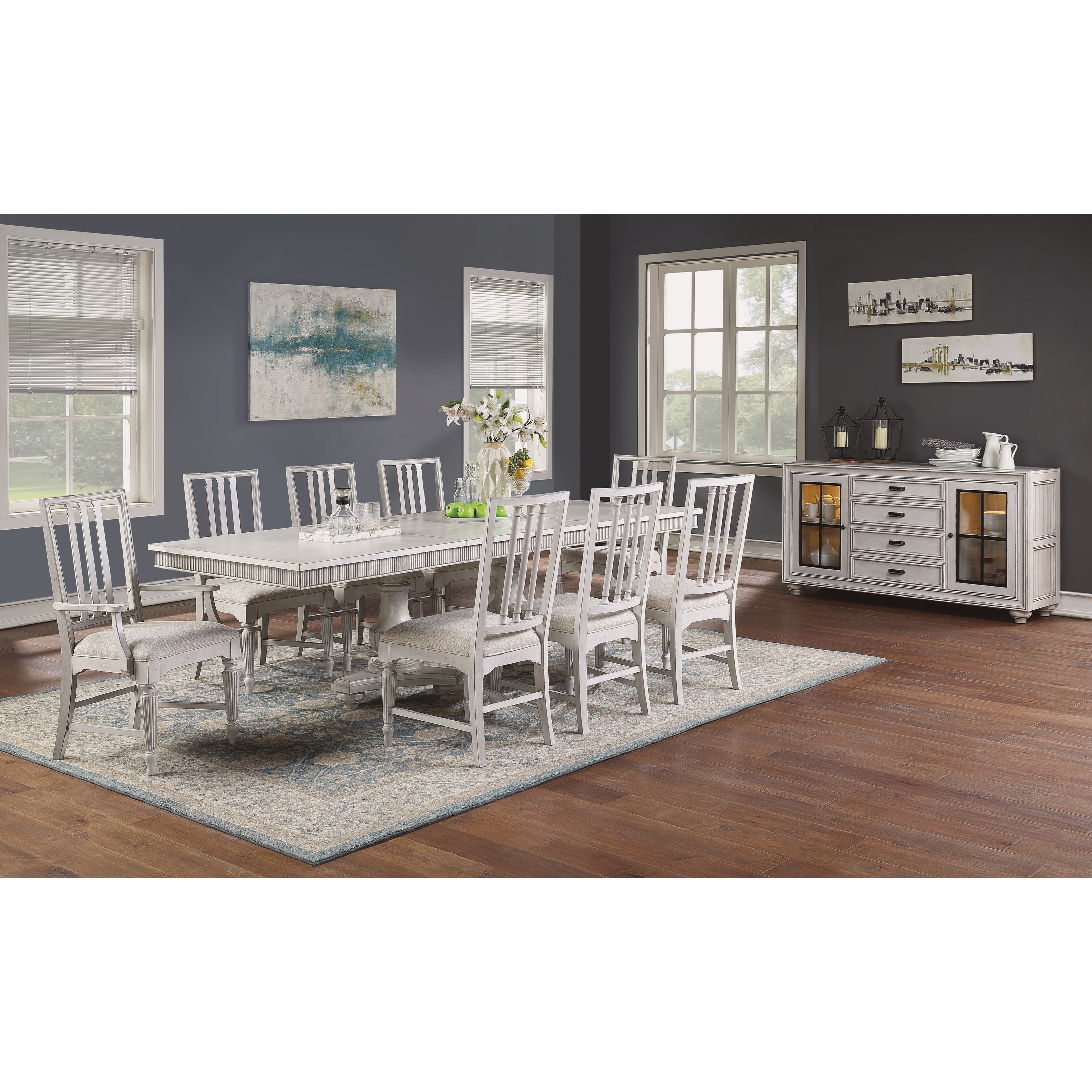 Harmony Dining Room Group by Flexsteel Wynwood Collection at Northeast Factory Direct