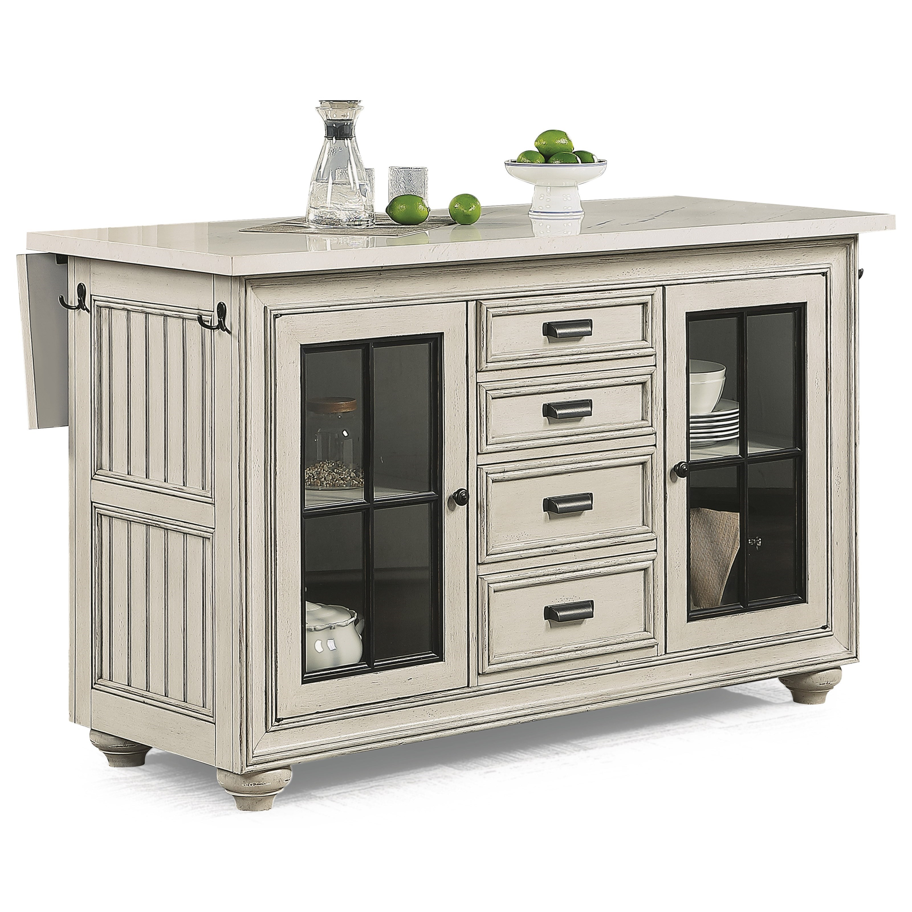 Harmony Kitchen Island  by Flexsteel Wynwood Collection at Northeast Factory Direct