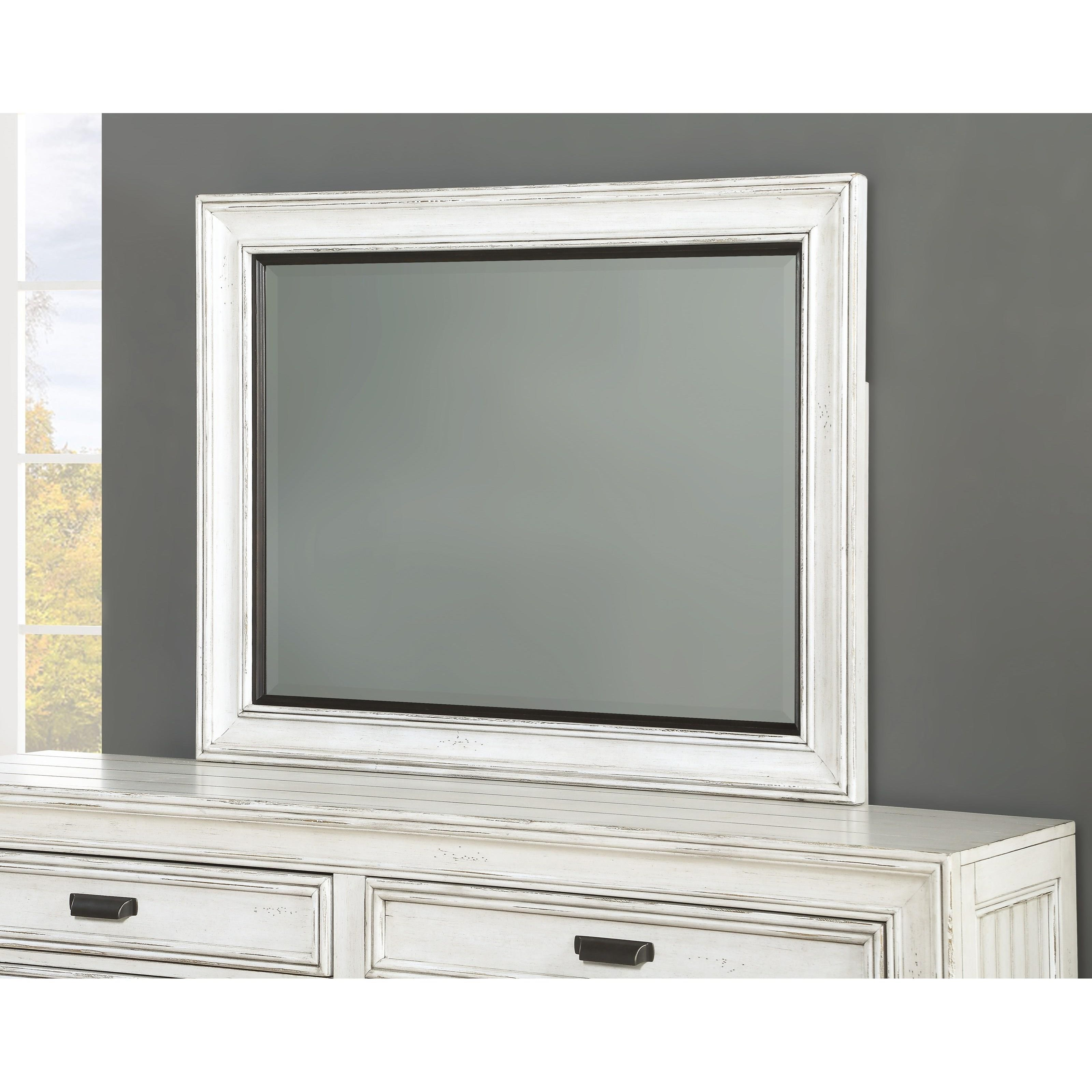 Harmony Mirror  by Flexsteel Wynwood Collection at Darvin Furniture