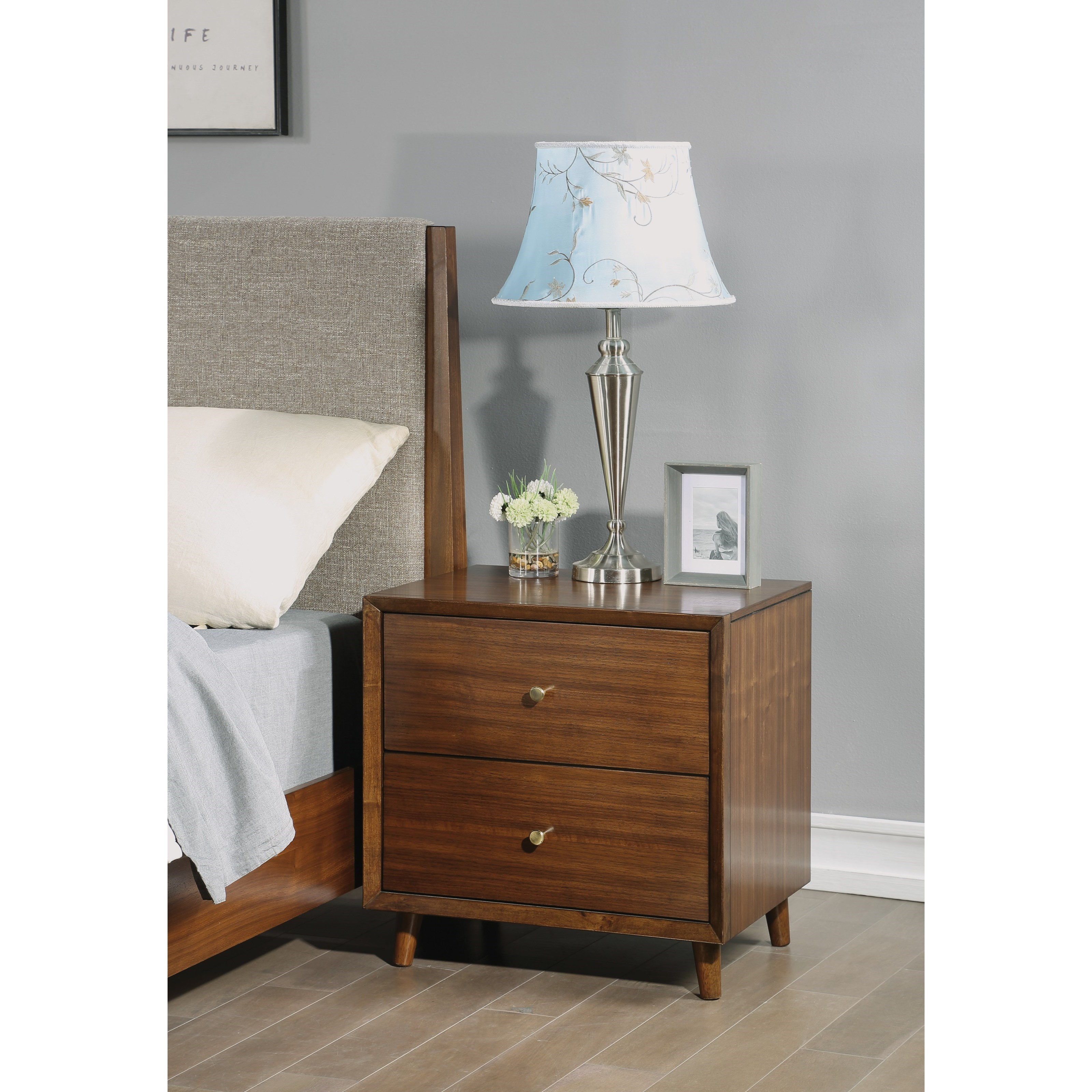 Ludwig Nightstand by Flexsteel Wynwood Collection at Steger's Furniture