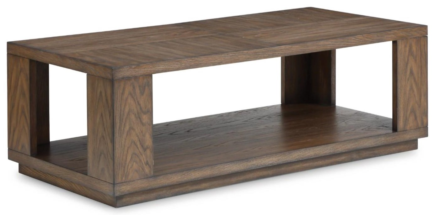 Mallory Mallory Cocktail Table by Flexsteel Wynwood Collection at Morris Home