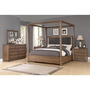 Casual Queen Bedroom Group
