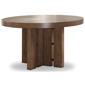 Casual Round Dining Table