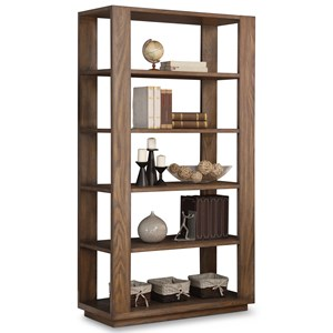 Casual Bookcase with 5 Shelves