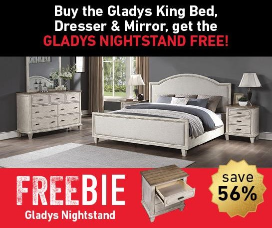 Gladys Gladys Bedroom Group with Freebie! by Flexsteel Wynwood Collection at Morris Home