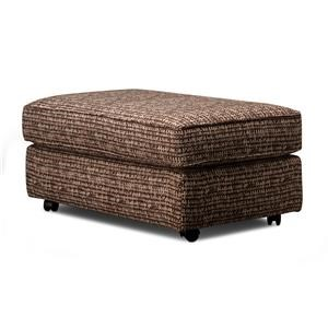 Nixie Castered Cocktail Ottoman
