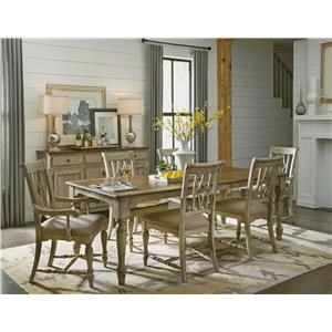 7PC Dining Table & Chairs Set