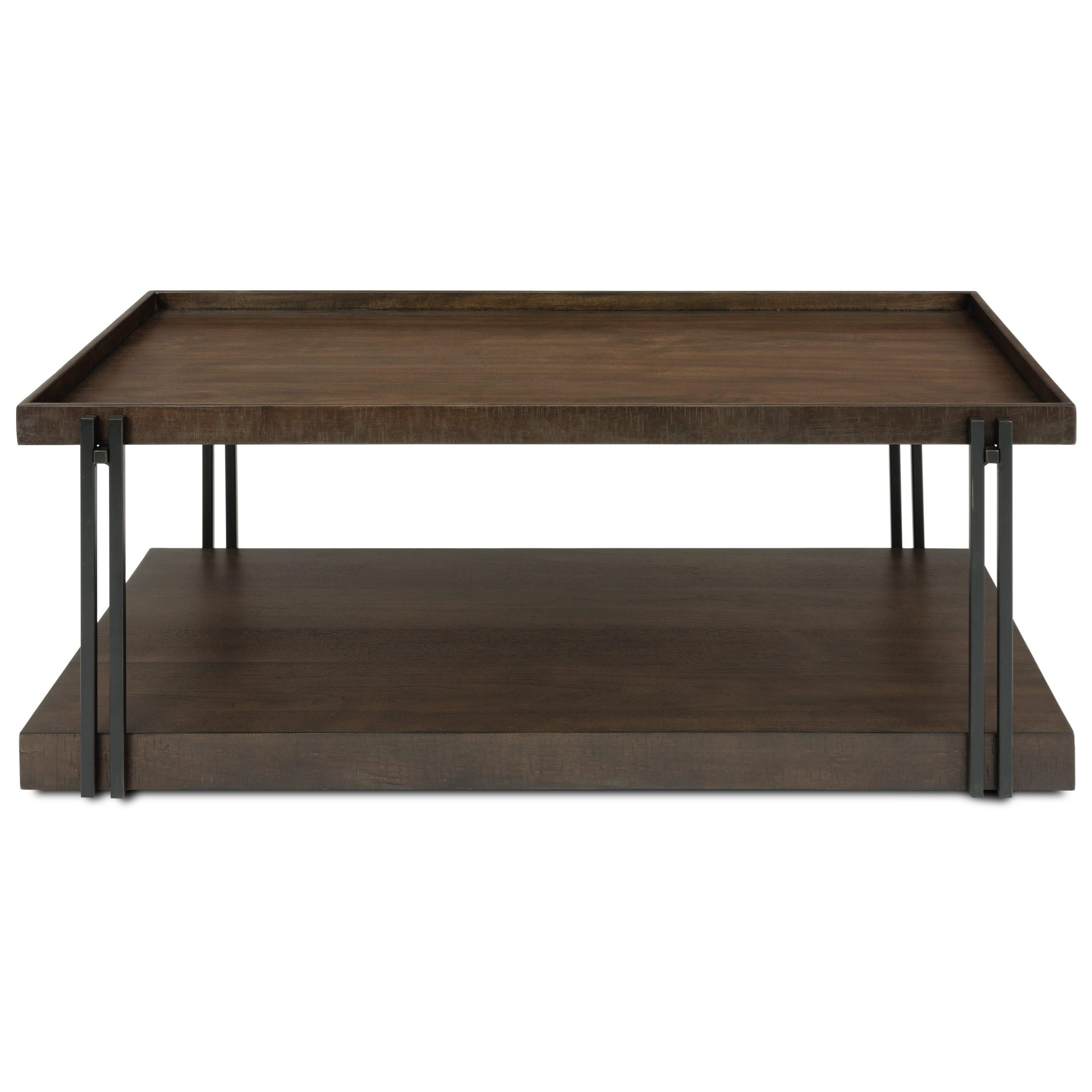 Prairie Rectangular Cocktail Table  by Flexsteel Wynwood Collection at Steger's Furniture