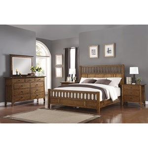 Mission California King Bedroom Group