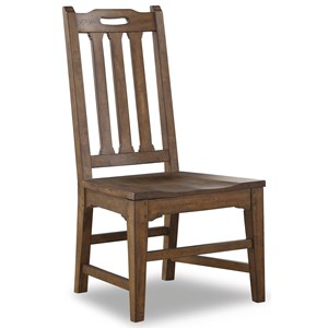 Mission Dining Side Chair with Slat Back