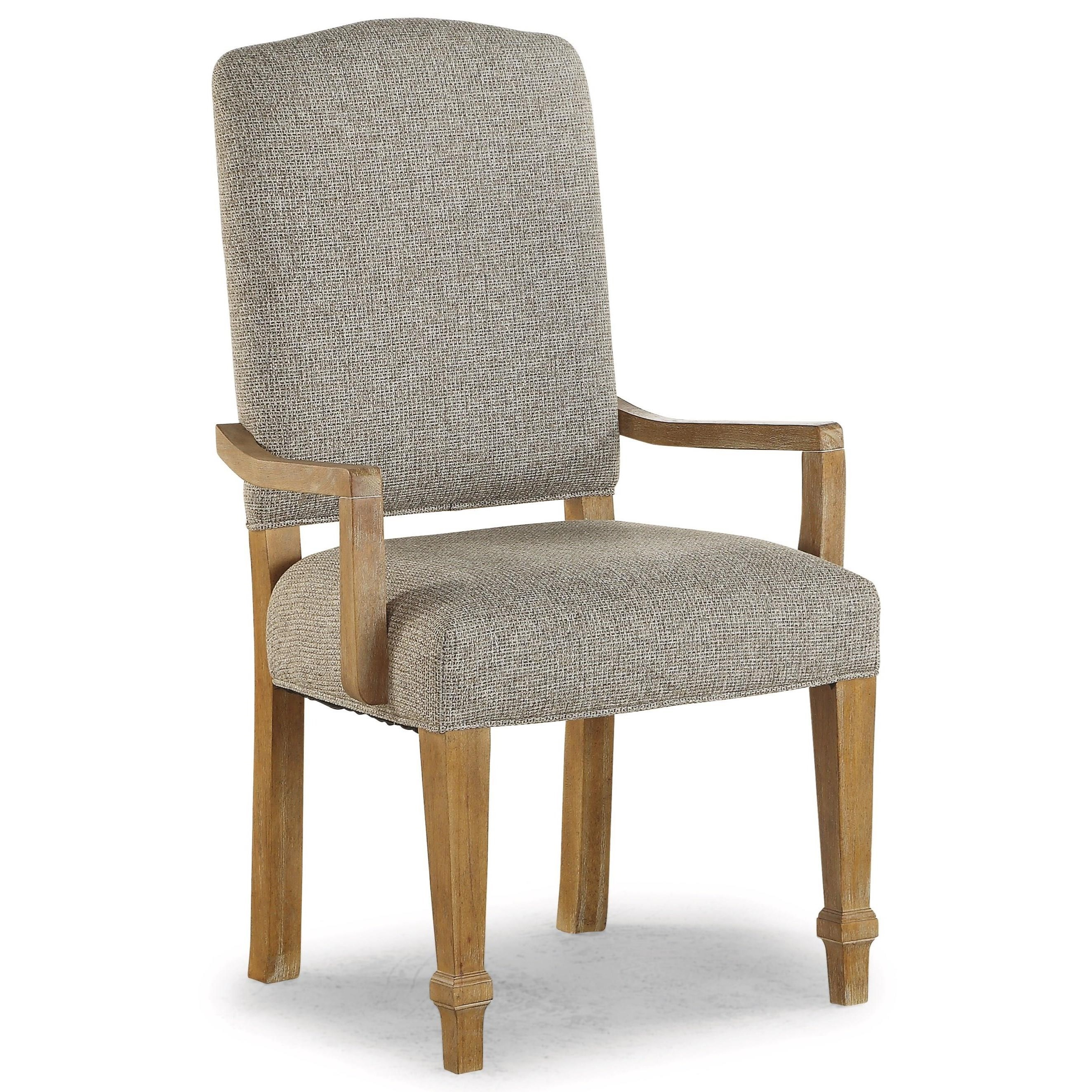 Upholstered Arm Dining Chair