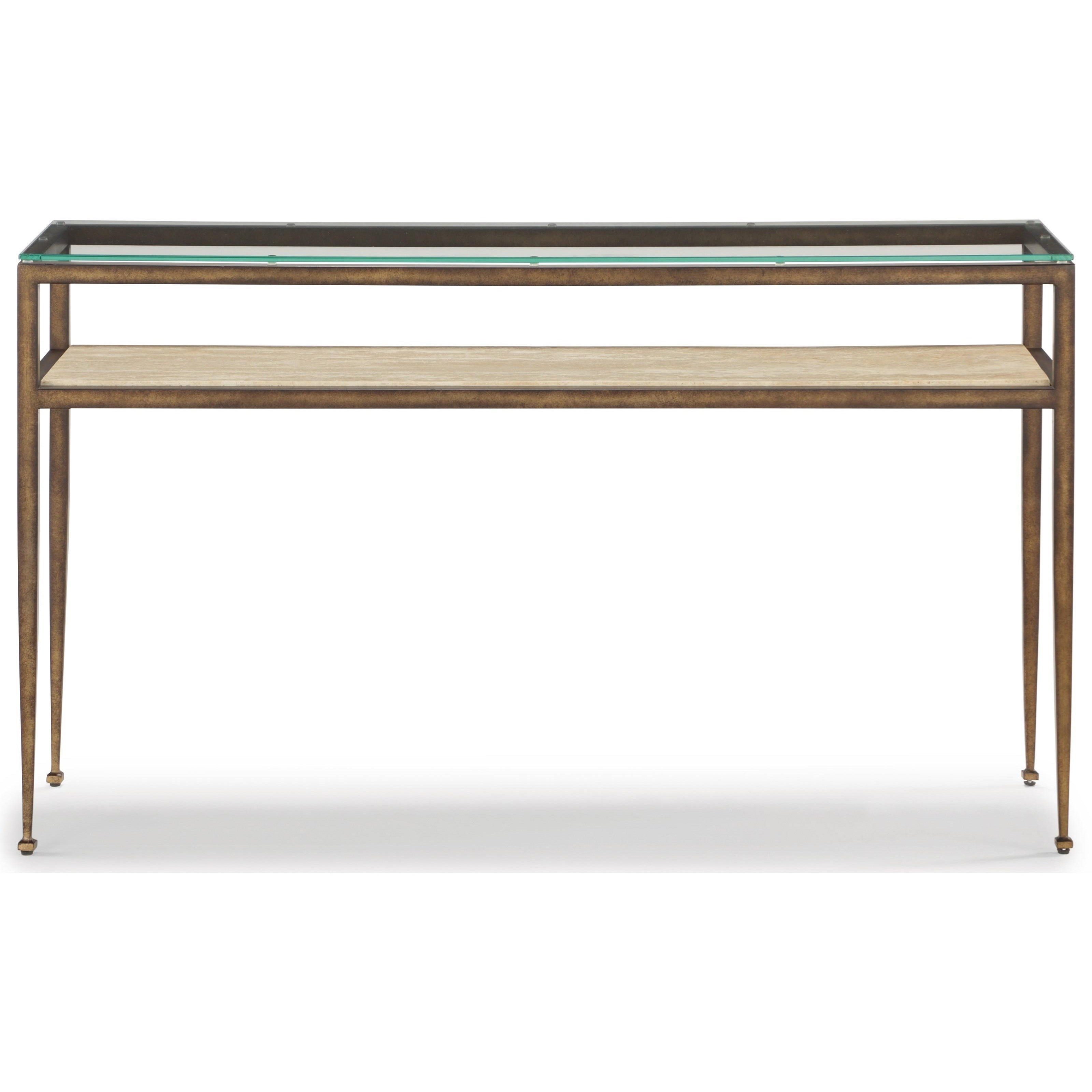 Venice Sofa Table  by Flexsteel Wynwood Collection at Fisher Home Furnishings