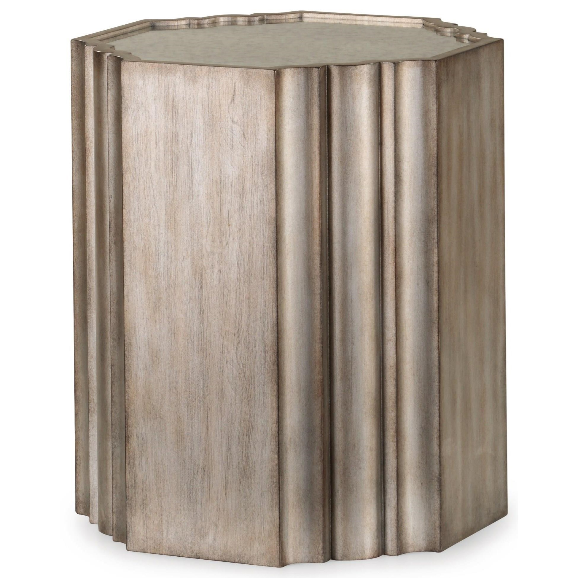 Vogue Chairside Table  by Flexsteel Wynwood Collection at Rotmans