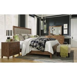 Rustic California King Bedroom Group