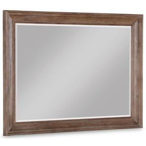 Rustic Beveled Mirror