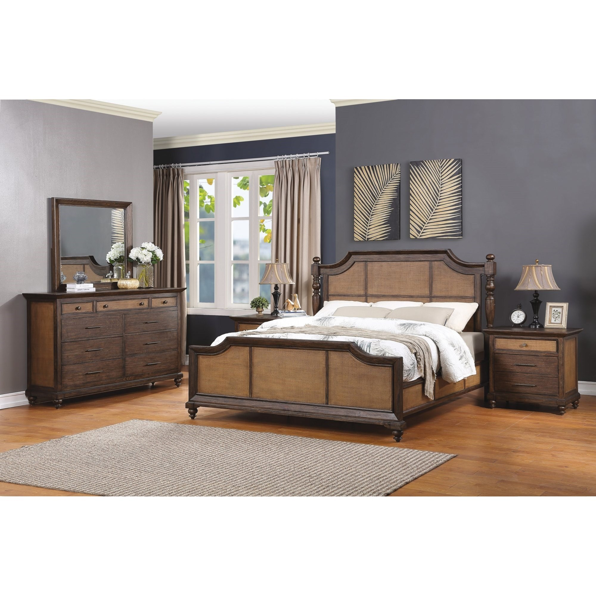 Wakefield Queen Bedroom Group by Flexsteel Wynwood Collection at Northeast Factory Direct
