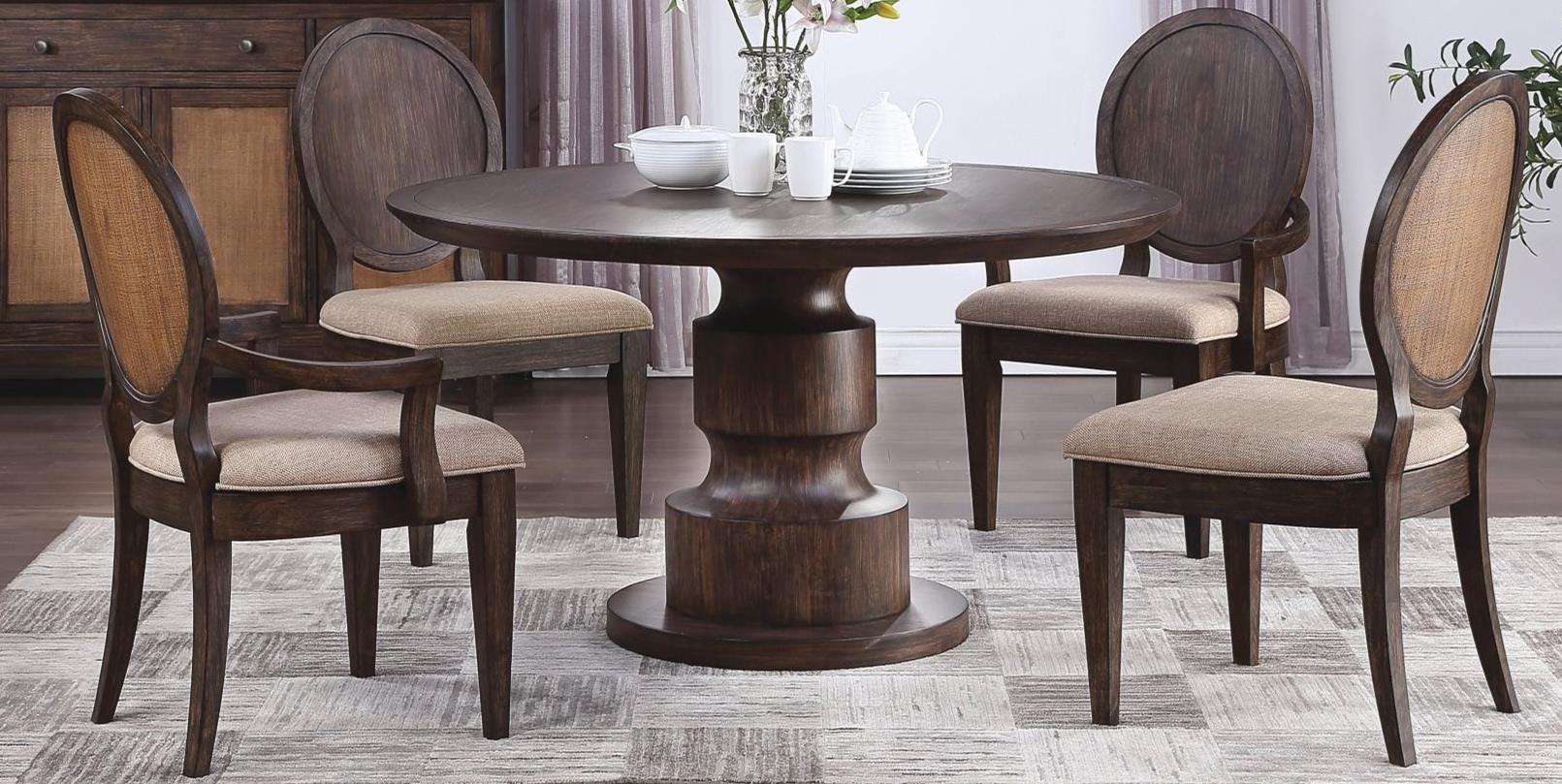 Wakefield 5-Piece Table and Chair Set by Flexsteel Wynwood Collection at Northeast Factory Direct