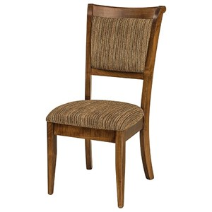 Customizable Upholstered Solid Wood Dining Side Chair