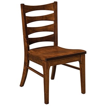 Armanda Customizable Solid Wood Side Chair by F&N Woodworking at Mueller Furniture