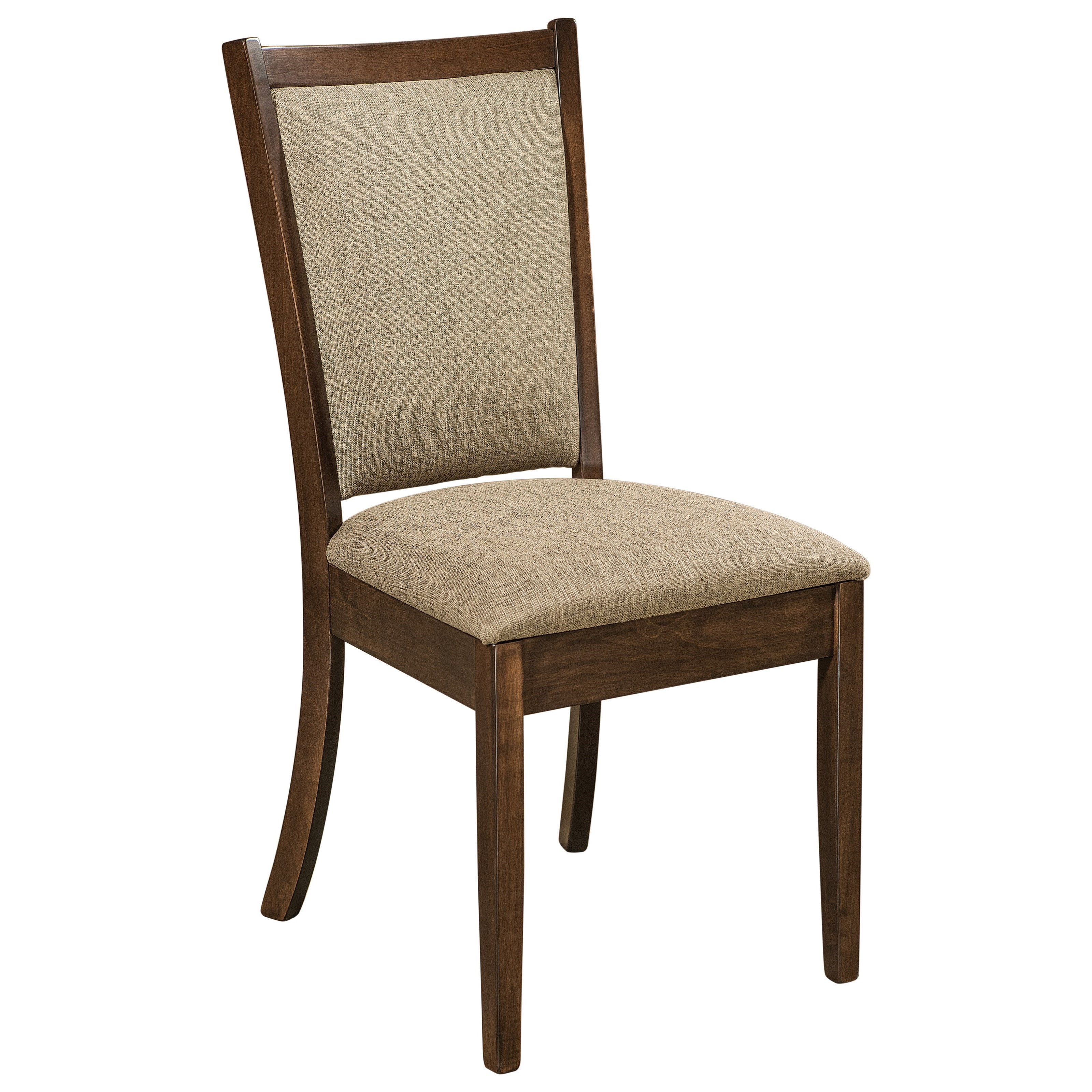 Kalispel Customizable Solid Wood Dining Side Chair by F&N Woodworking at Saugerties Furniture Mart