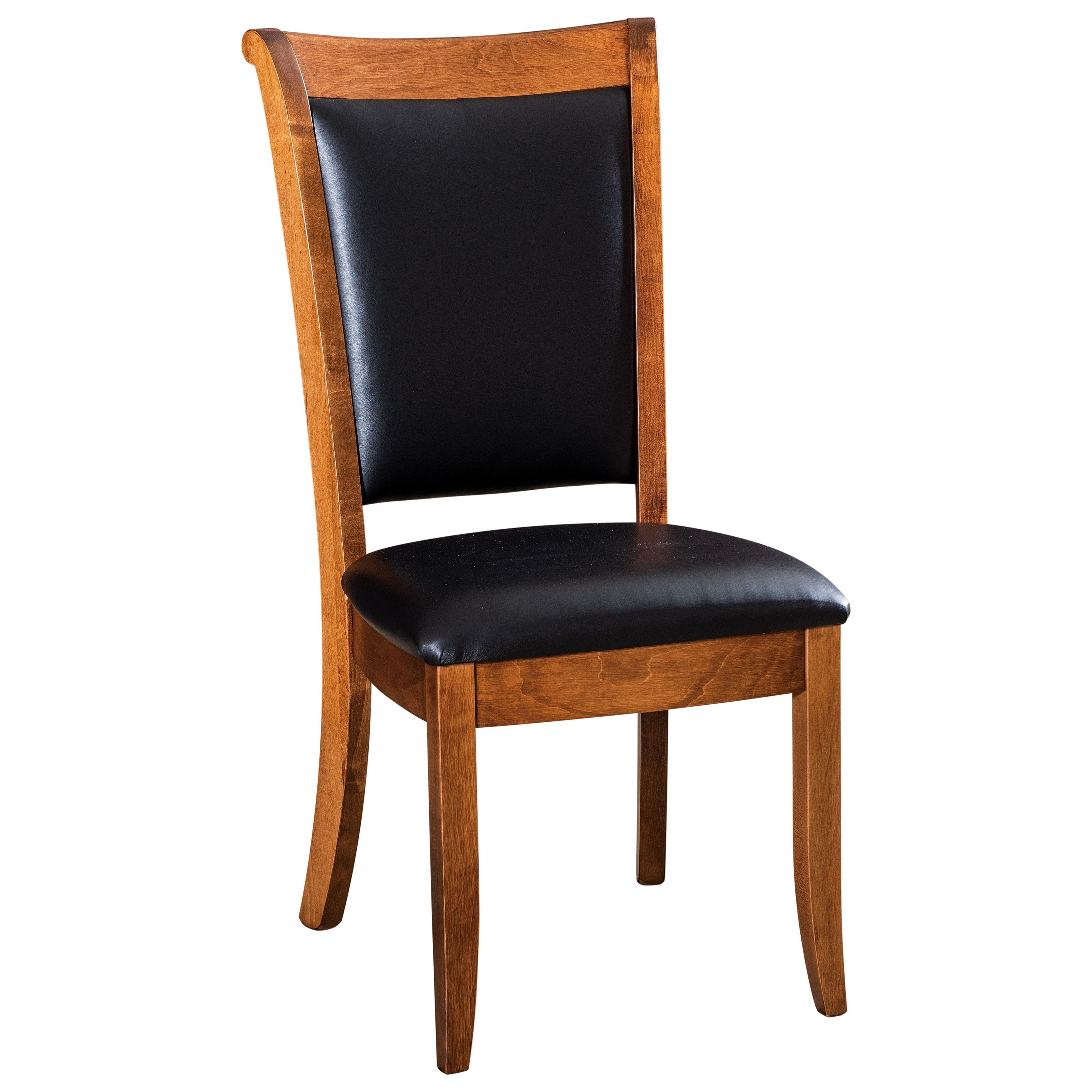 Kimberly Customizable Solid Wood Dining Side Chair by F&N Woodworking at Saugerties Furniture Mart