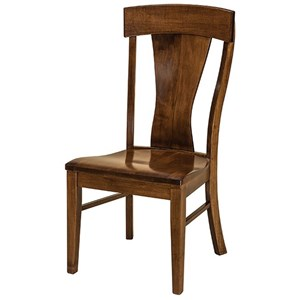Customizable Solid Wood Dining Side Chair