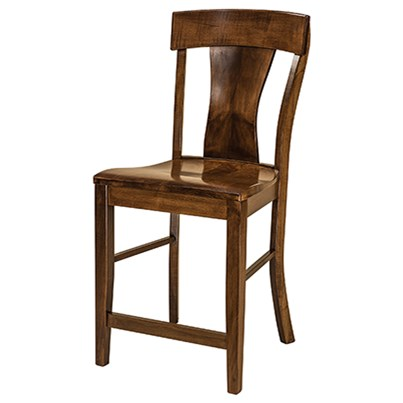 """Ramsey 30"""" Stationary Bar Stool by F&N Woodworking at Mueller Furniture"""
