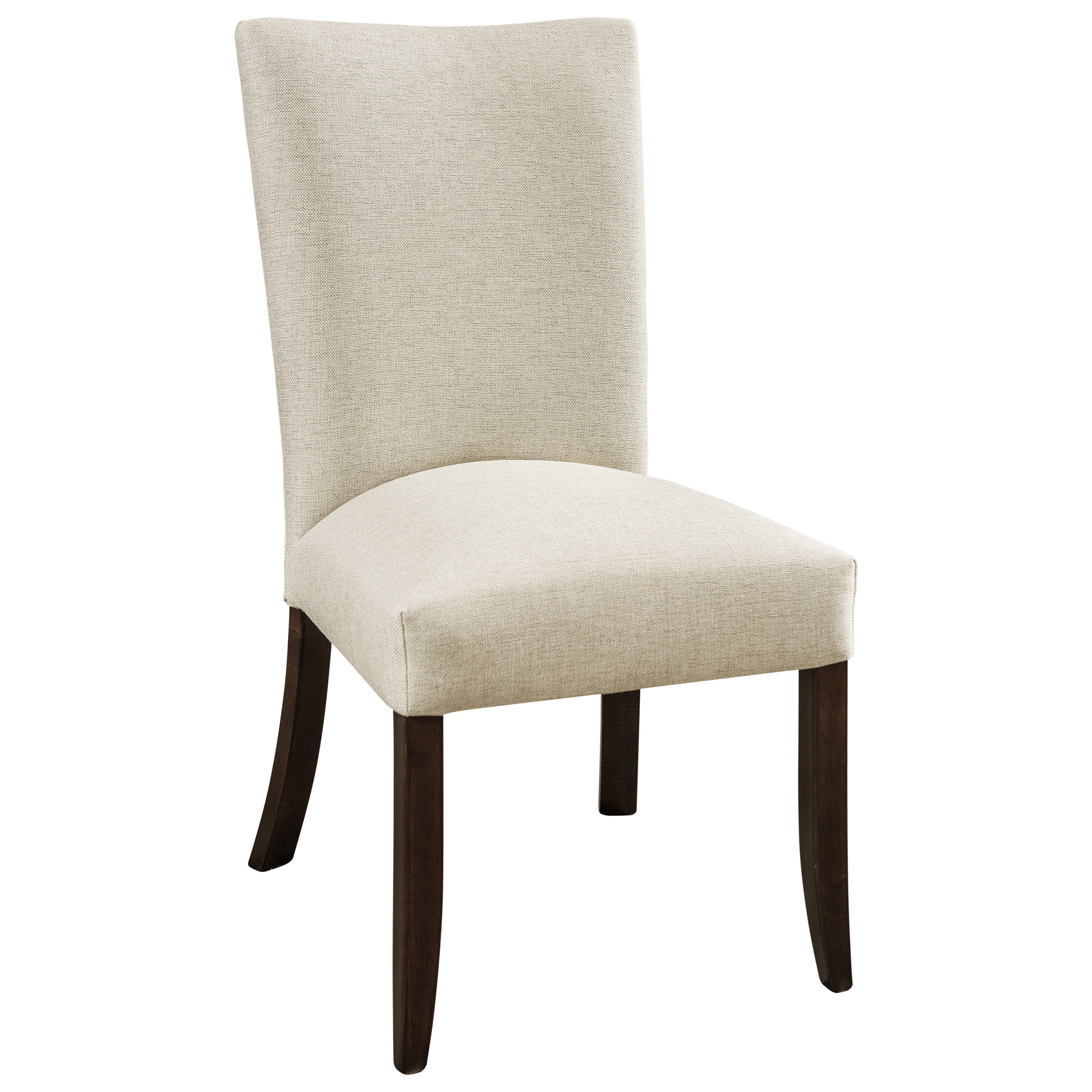 Trenton Customizable Solid Wood Side Chair by F&N Woodworking at Saugerties Furniture Mart
