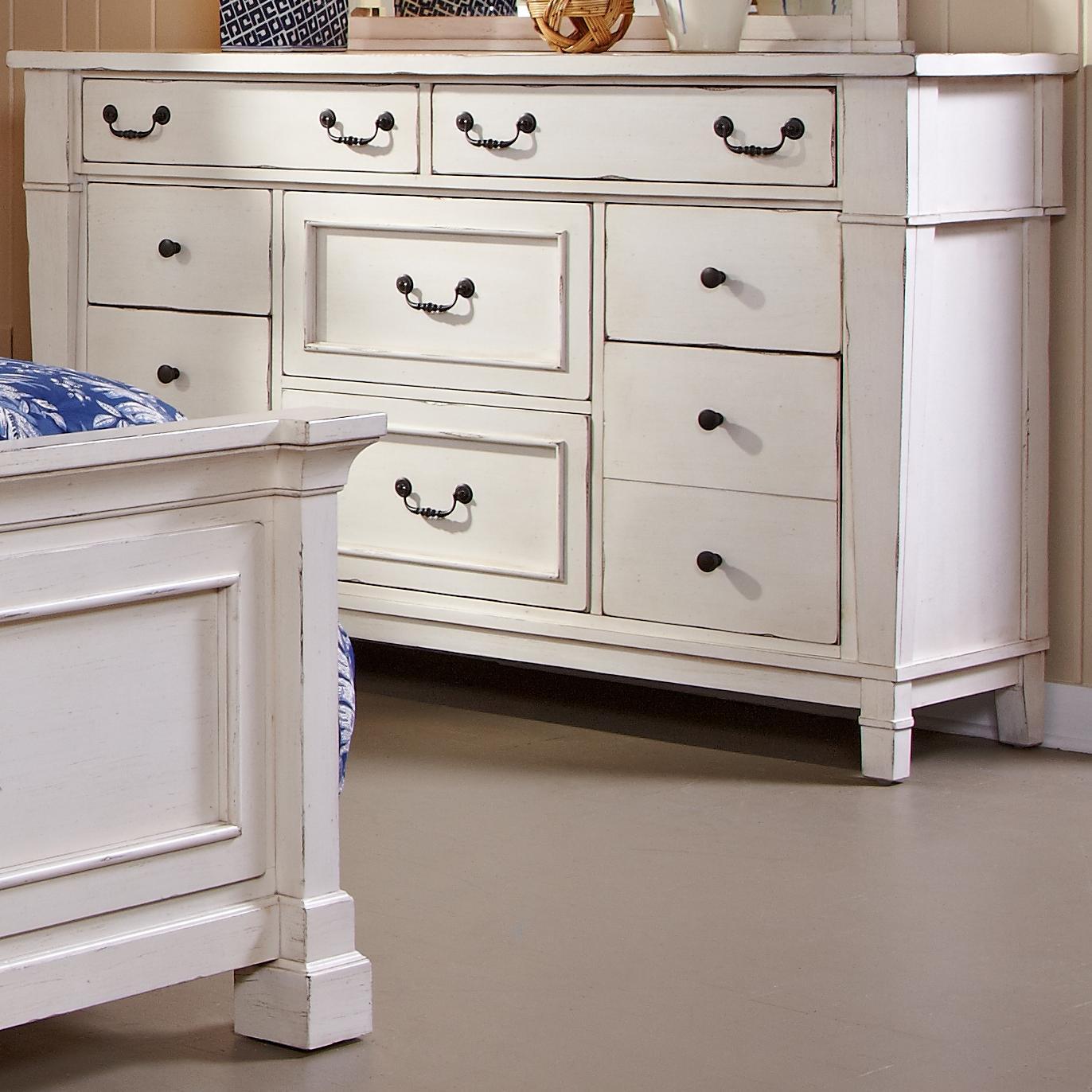 Astoria Eight Drawer Dresser at Walker's Furniture
