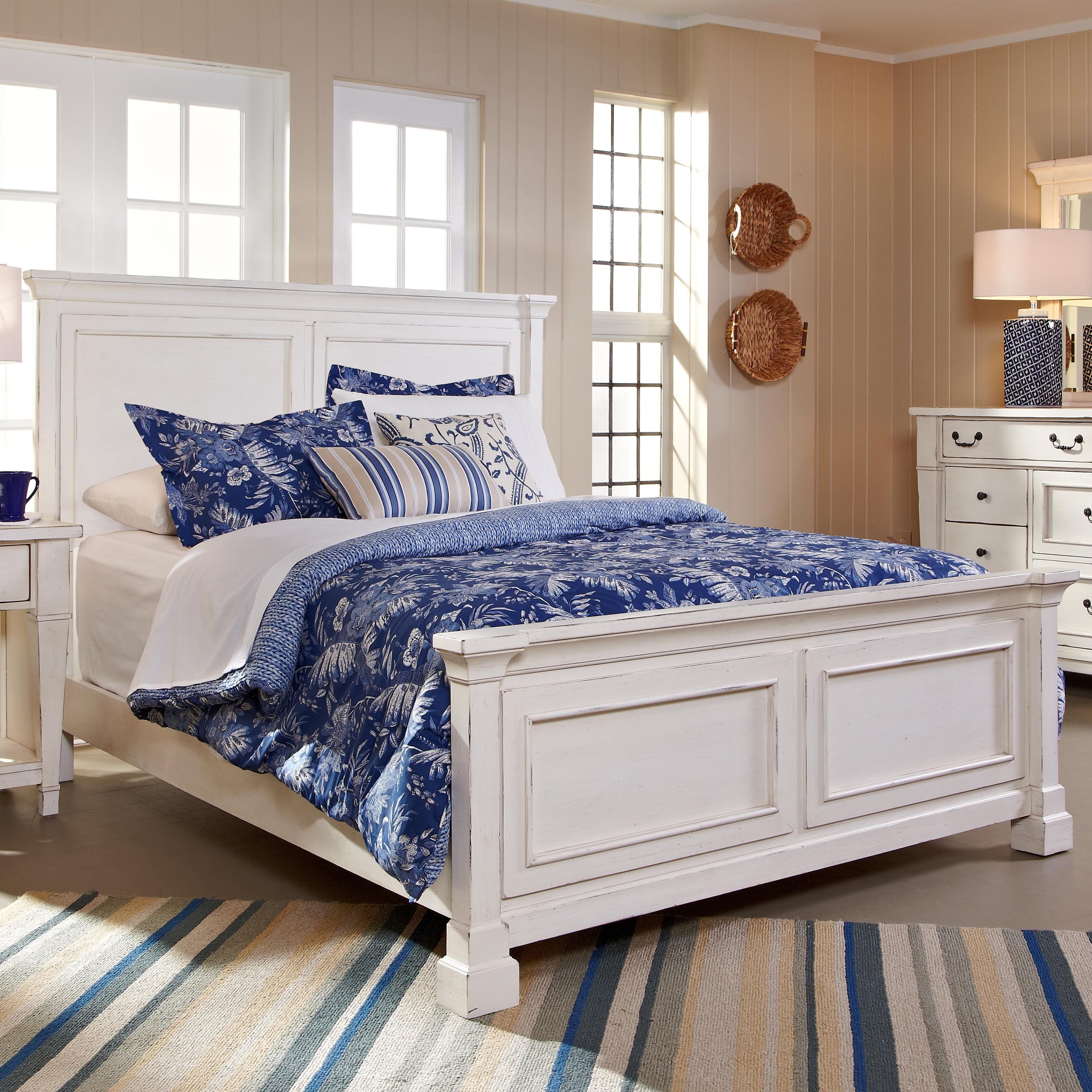 Stoney Creek King Panel Bed by Folio 21 at Johnny Janosik