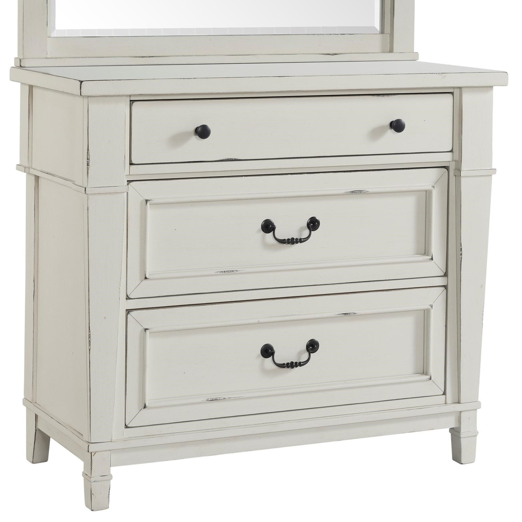 Astoria Small Chest at Walker's Furniture