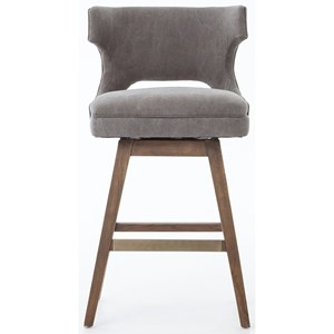 Task Counter Stool with Swivel Base