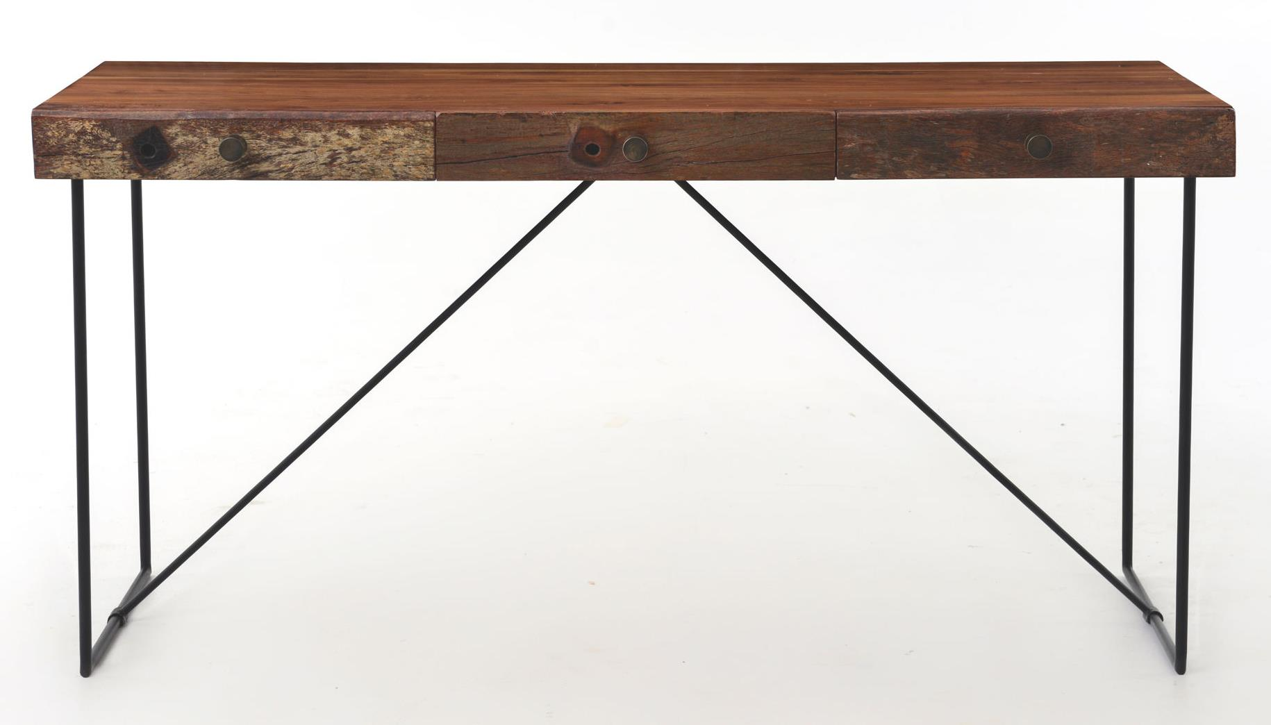 Bina Wright Desk by Four Hands at Alison Craig Home Furnishings