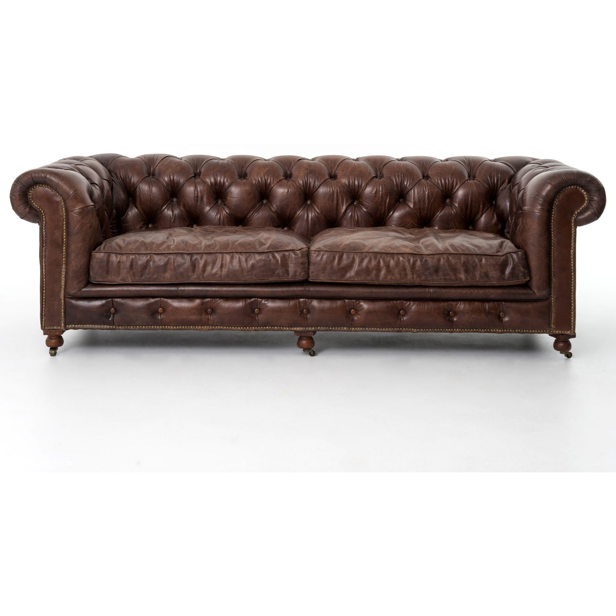 "Carnegie Conrad 96"" Sofa by Four Hands at Alison Craig Home Furnishings"