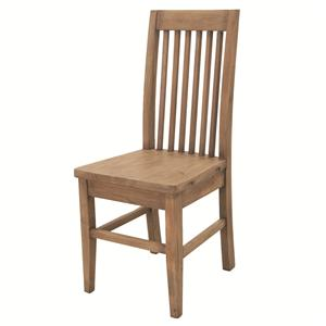 Cornwall Dining Chair with Curved Slat Back