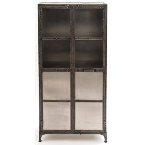 Mixed Metal Cabinet