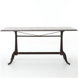 Parisian Dining Table with Bluestone Top