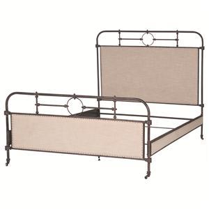 Berkley Metal Queen Bed
