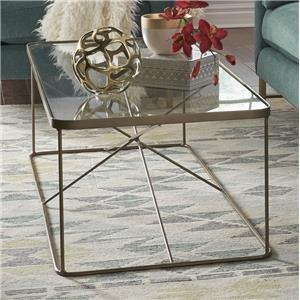 Lucas Geometric Coffee Table