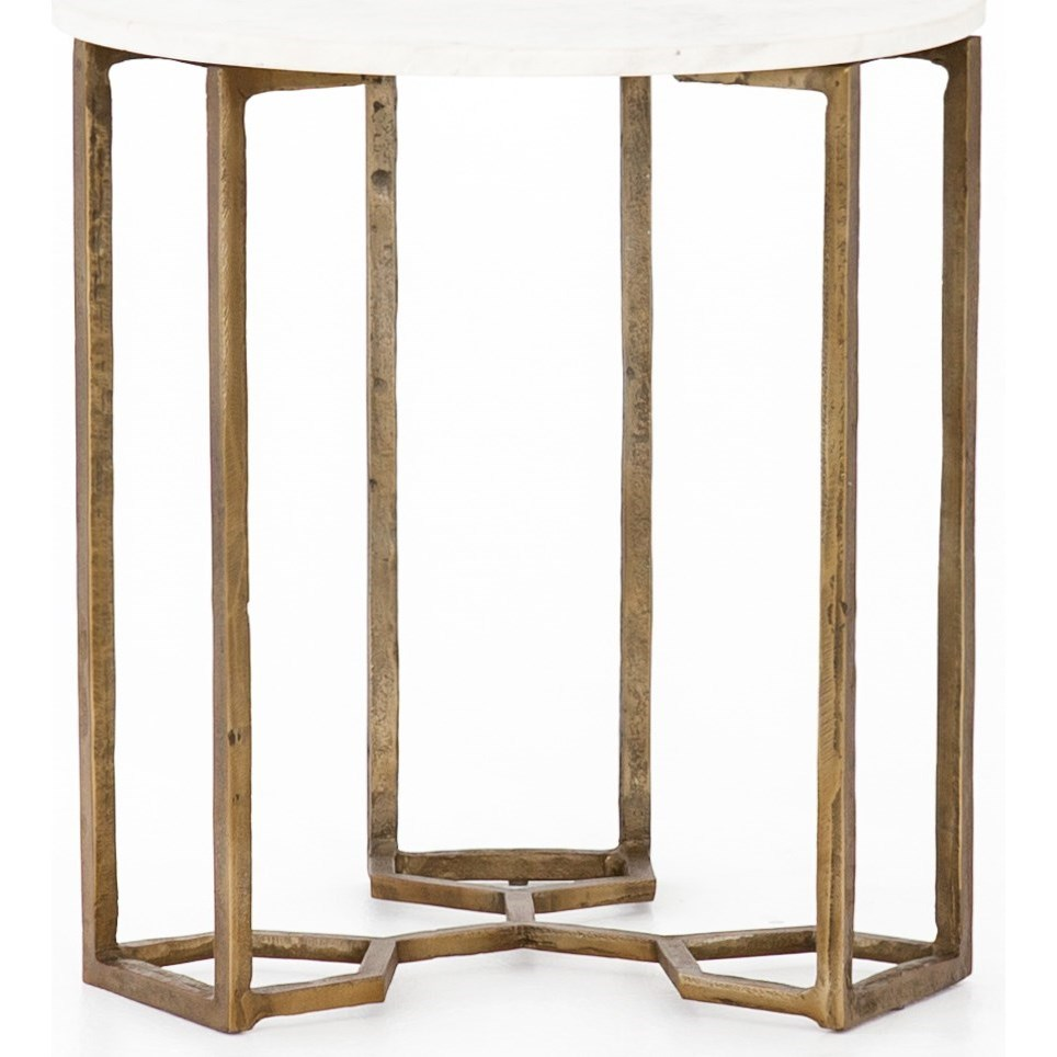 Marlow Naomi End Table by Four Hands at Alison Craig Home Furnishings