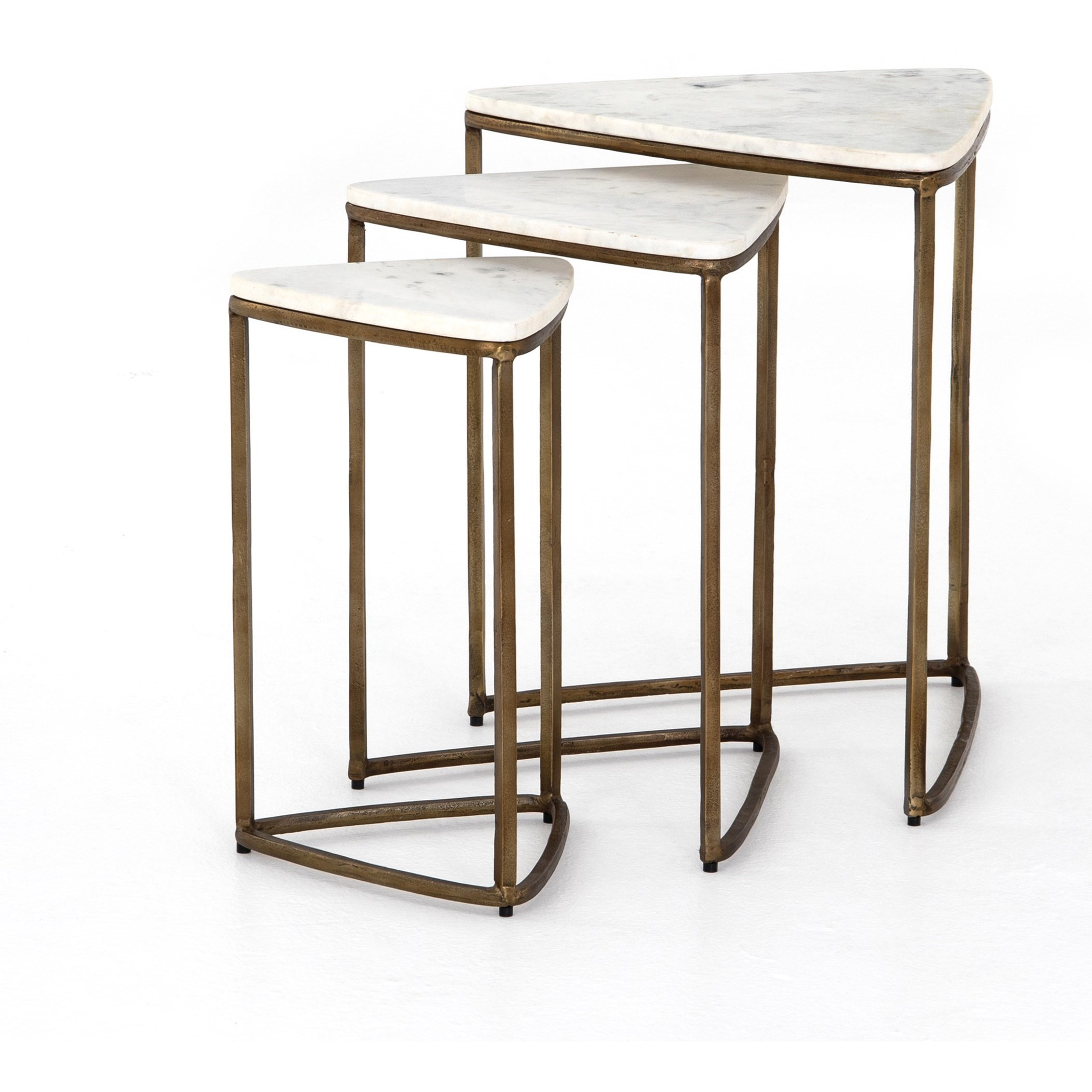 Marlow Raine Nesting End Table by Four Hands at Alison Craig Home Furnishings