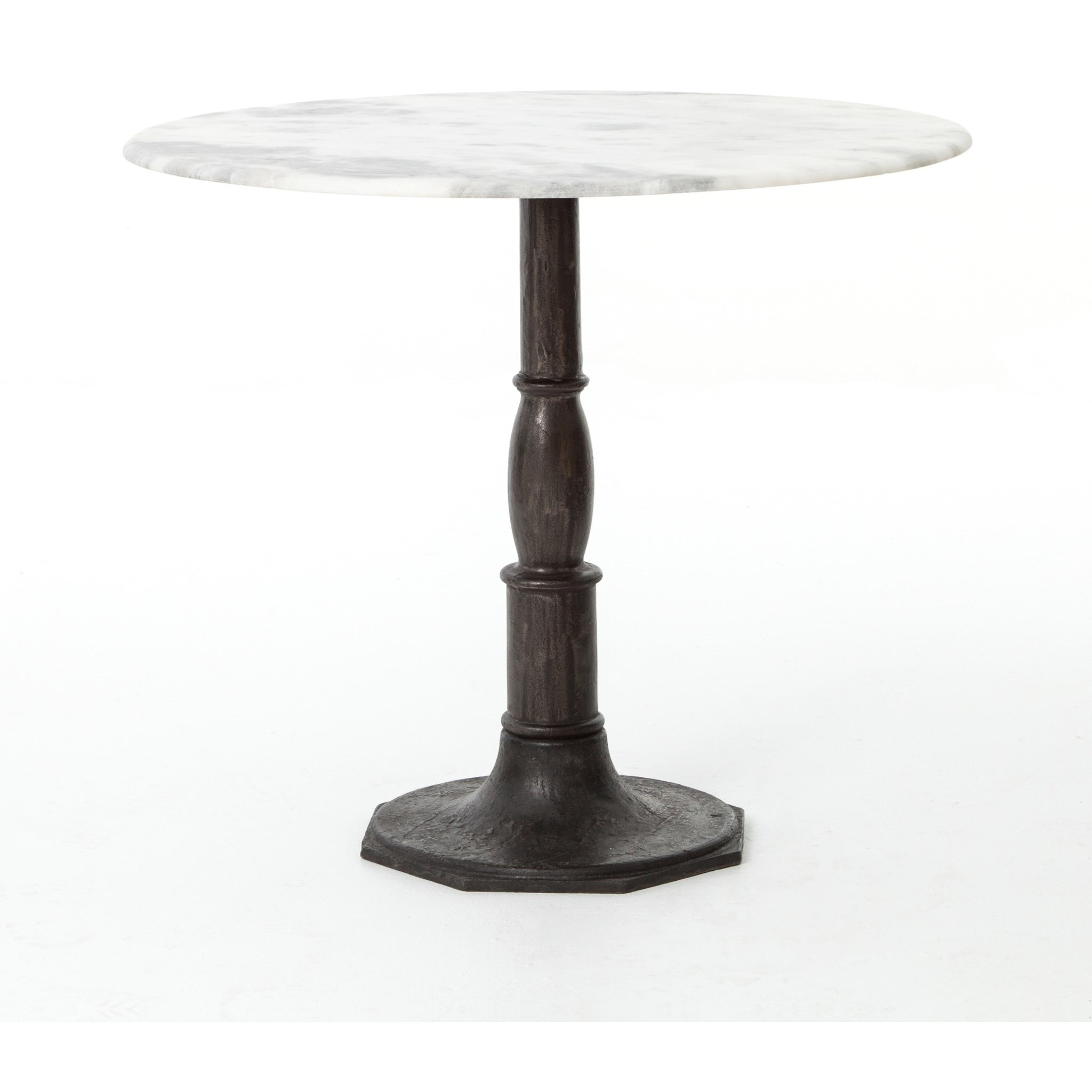 Rockwell Lucy Bistro Table-Carbon Wash by Four Hands at Jacksonville Furniture Mart