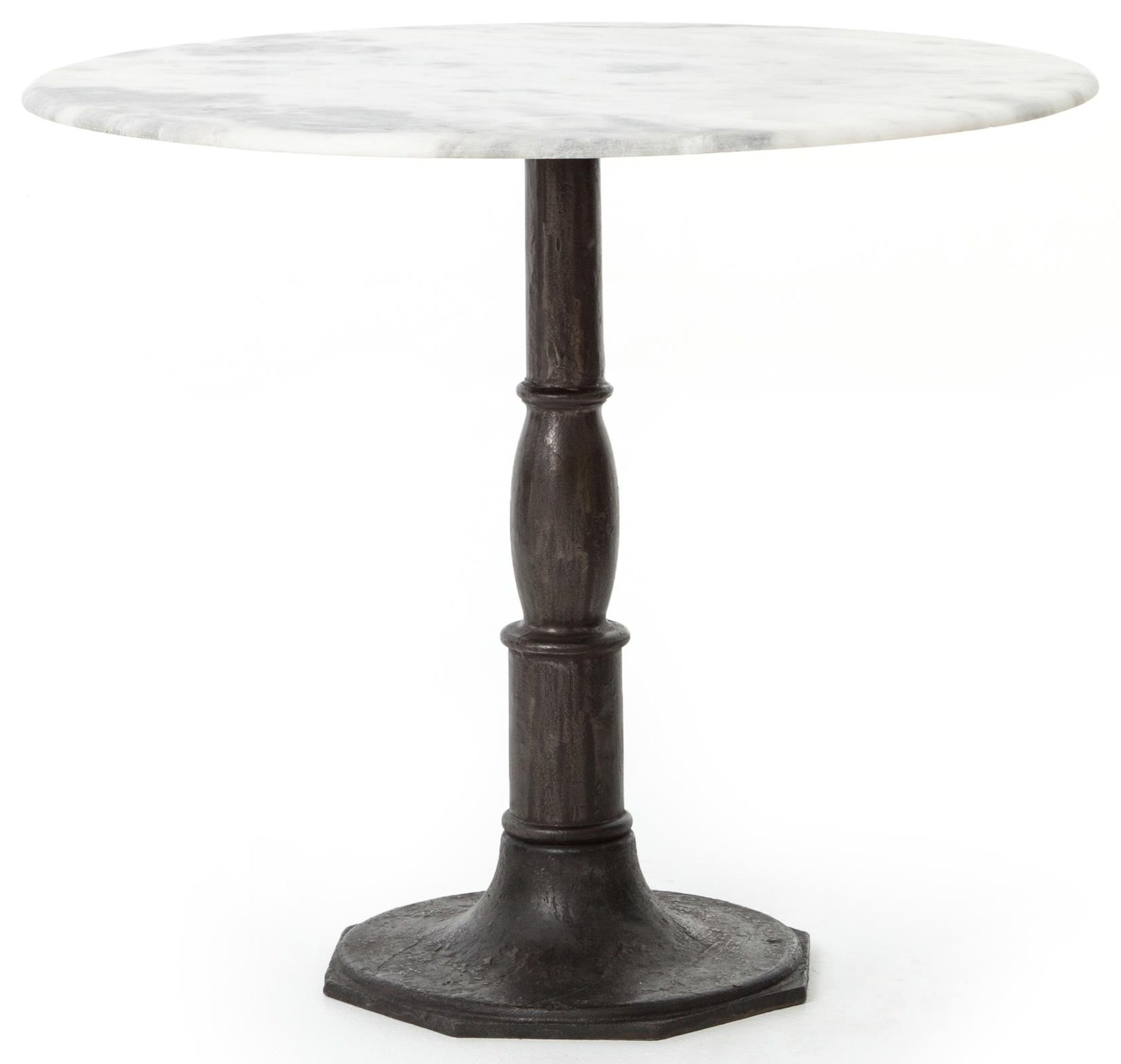 """Lucy Bistro Table - 36"""" Carbon Wash"""