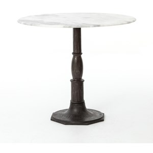 Lucy Bistro Table-Carbon Wash